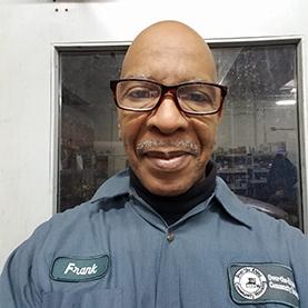 Frank Cook : Maintenance Technician